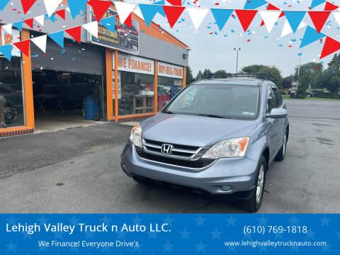 2010 Honda CR-V for sale at Lehigh Valley Truck n Auto LLC. in Schnecksville PA