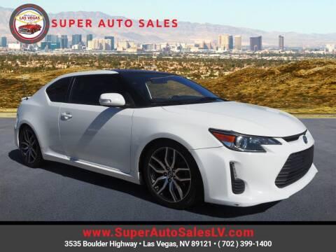2014 Scion tC for sale at Super Auto Sales in Las Vegas NV