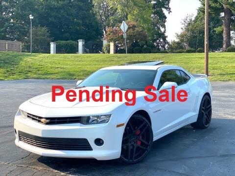 2015 Chevrolet Camaro for sale at Sebar Inc. in Greensboro NC