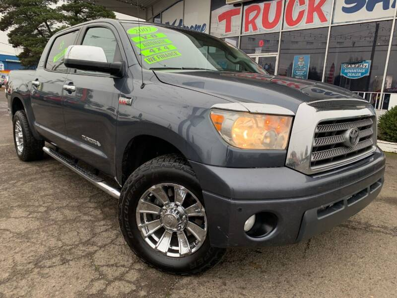 2007 Toyota Tundra for sale at Xtreme Truck Sales in Woodburn OR