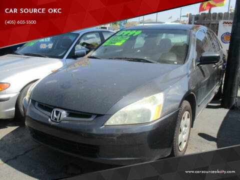 2005 Honda Accord for sale at Car One - CAR SOURCE OKC in Oklahoma City OK