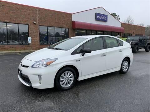 2013 Toyota Prius Plug-in Hybrid for sale at Impex Auto Sales in Greensboro NC