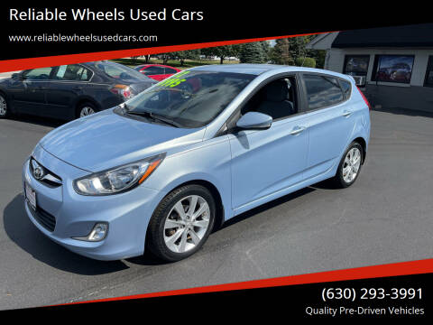 2012 Hyundai Accent for sale at Reliable Wheels Used Cars in West Chicago IL