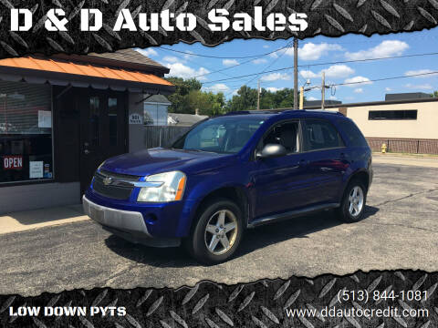 2005 Chevrolet Equinox for sale at D & D Auto Sales in Hamilton OH