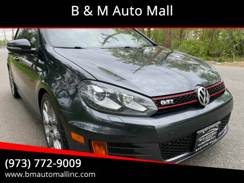 2013 Volkswagen GTI for sale at B & M Auto Mall in Clifton NJ
