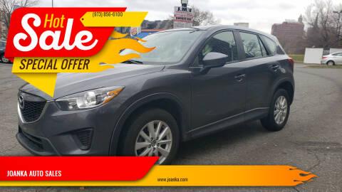 2014 Mazda CX-5 for sale at JOANKA AUTO SALES in Newark NJ