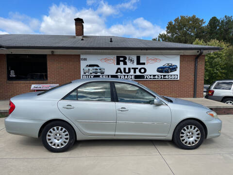 2003 Toyota Camry for sale at R & L Autos in Salisbury NC