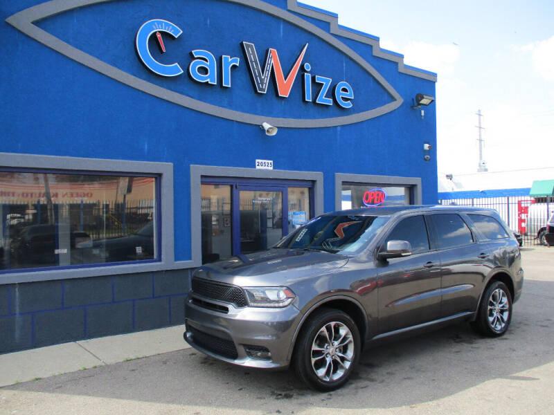 2019 Dodge Durango for sale at Carwize in Detroit MI