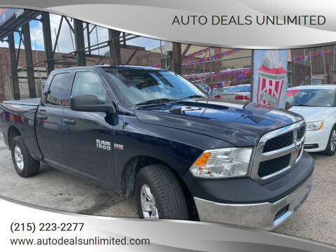 2017 RAM Ram Pickup 1500 for sale at AUTO DEALS UNLIMITED in Philadelphia PA