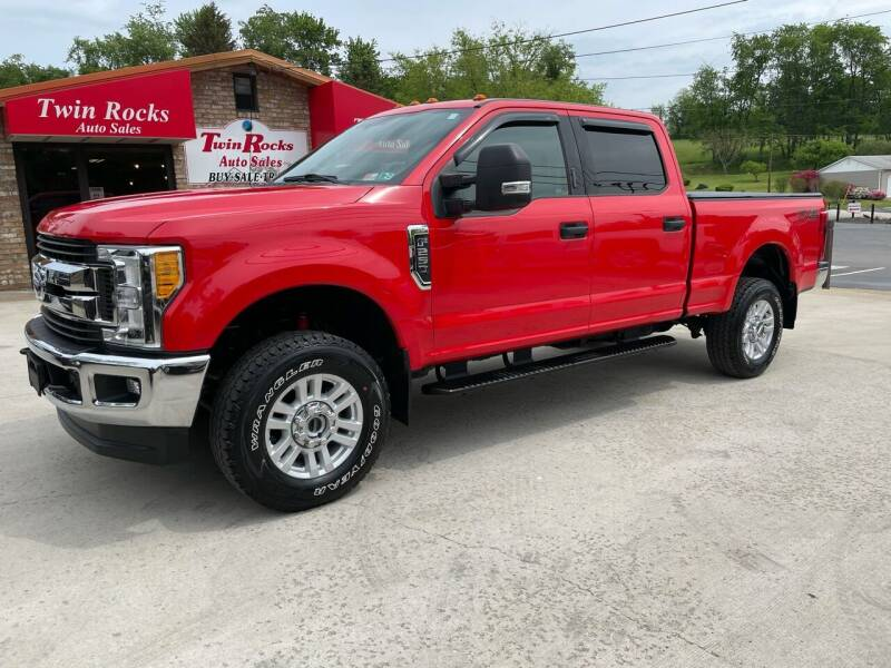 2017 Ford F-250 Super Duty for sale at Twin Rocks Auto Sales LLC in Uniontown PA