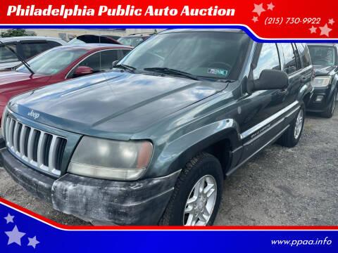 2004 Jeep Grand Cherokee for sale at Philadelphia Public Auto Auction in Philadelphia PA