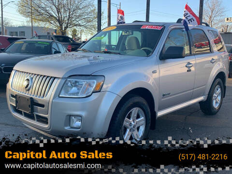 2009 Mercury Mariner Hybrid for sale at Capitol Auto Sales in Lansing MI