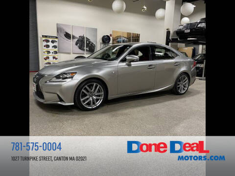 2016 Lexus IS 300 for sale at DONE DEAL MOTORS in Canton MA
