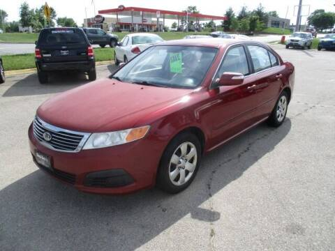2009 Kia Optima for sale at King's Kars in Marion IA
