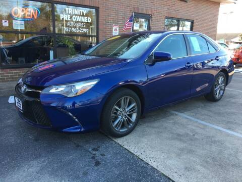 2016 Toyota Camry for sale at Bankruptcy Car Financing in Norfolk VA