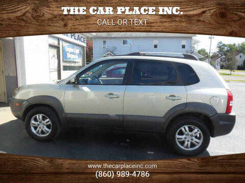 2008 Hyundai Tucson for sale at THE CAR PLACE INC. in Somersville CT