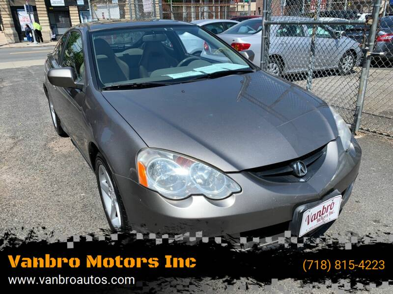 2004 Acura RSX for sale at Vanbro Motors Inc in Staten Island NY