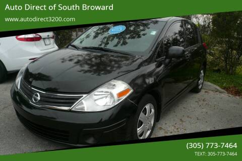 2011 Nissan Versa for sale at Auto Direct of South Broward in Miramar FL