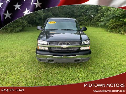 2004 Chevrolet Silverado 1500 for sale at Midtown Motors in Greenbrier TN