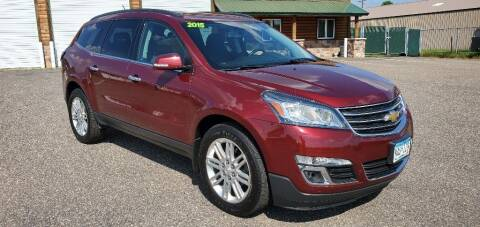 2015 Chevrolet Traverse for sale at Transmart Autos in Zimmerman MN