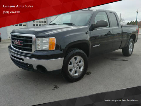 2011 GMC Sierra 1500 for sale at Canyon Auto Sales in Orem UT