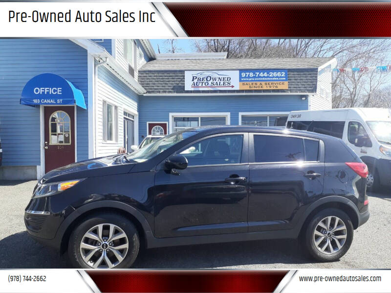2014 Kia Sportage for sale at Pre-Owned Auto Sales Inc in Salem MA