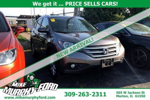 2013 Honda CR-V for sale at Mike Murphy Ford in Morton IL
