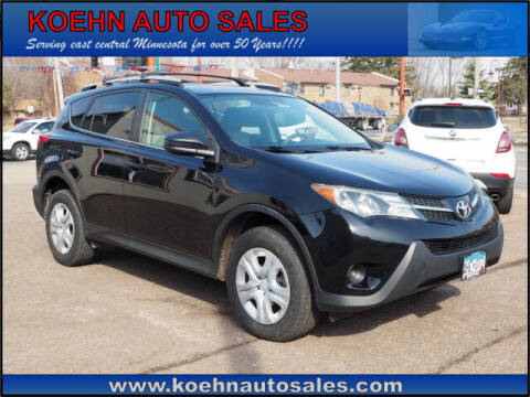 2014 Toyota RAV4 for sale at Koehn Auto Sales in Lindstrom MN