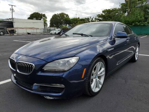 2013 BMW 6 Series for sale at Eden Cars Inc in Hollywood FL
