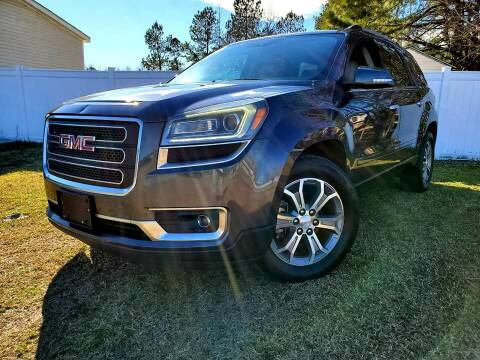 2013 GMC Acadia for sale at Real Deals of Florence, LLC in Effingham SC