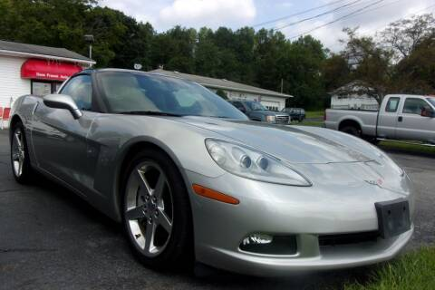 2005 Chevrolet Corvette for sale at Dave Franek Automotive in Wantage NJ