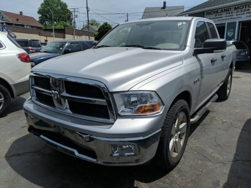 2009 Dodge Ram Pickup 1500 for sale at Richland Motors in Cleveland OH