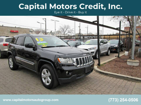 2013 Jeep Grand Cherokee for sale at Capital Motors Credit, Inc. in Chicago IL