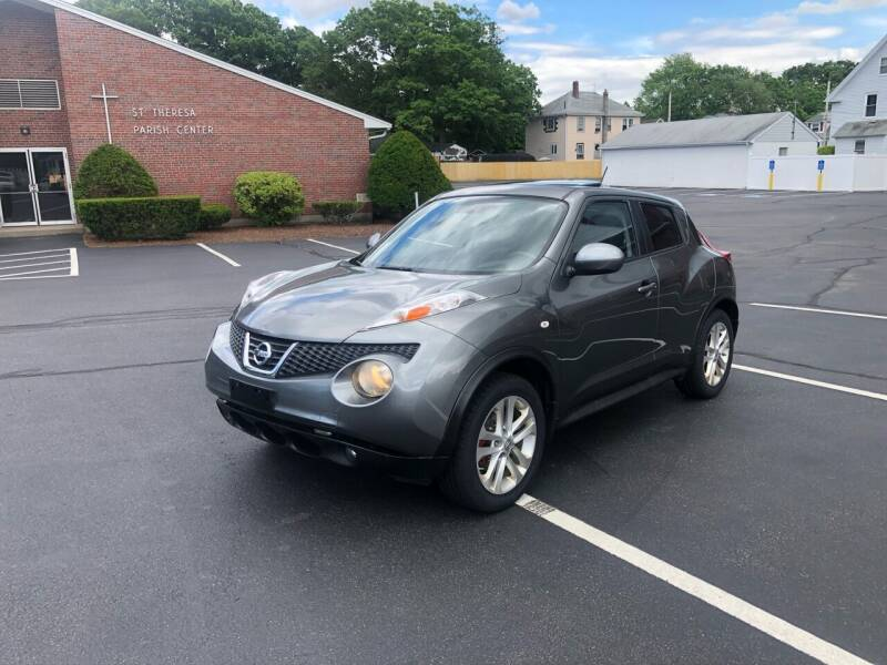2011 Nissan JUKE for sale at New England Cars in Attleboro MA
