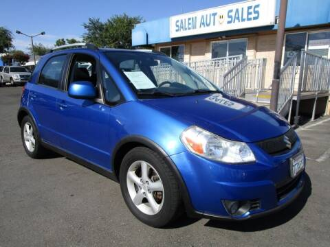 2007 Suzuki SX4 Crossover for sale at Salem Auto Sales in Sacramento CA