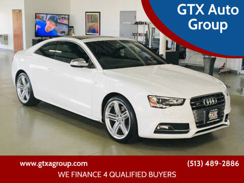 2014 Audi S5 for sale at GTX Auto Group in West Chester OH