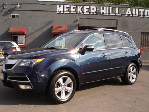 2012 Acura MDX for sale at Meeker Hill Auto Sales in Germantown WI