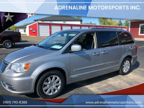 2014 Chrysler Town and Country for sale at Adrenaline Motorsports Inc. in Saginaw MI