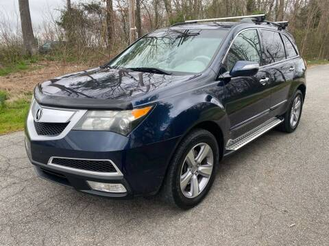 2011 Acura MDX for sale at Speed Auto Mall in Greensboro NC