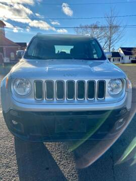 2016 Jeep Renegade for sale at AR's Used Car Sales LLC in Danbury CT