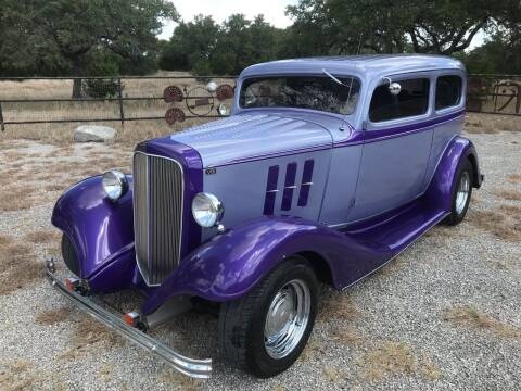 1933 Chevrolet Street Rod for sale at Mafia Motors in Boerne TX