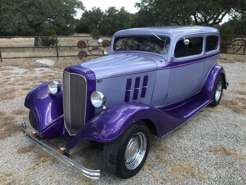 1933 Chevrolet Street Rod for sale at Mafia Motors in Boerne TX