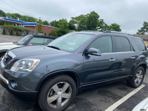 2012 GMC Acadia for sale at Primary Motors Inc in Commack NY