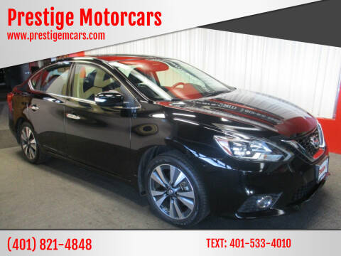 2016 Nissan Sentra for sale at Prestige Motorcars in Warwick RI