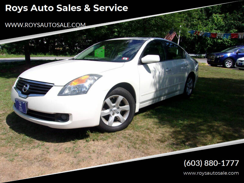 2009 Nissan Altima for sale at Roys Auto Sales & Service in Hudson NH