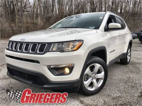 2018 Jeep Compass for sale at GRIEGER'S MOTOR SALES CHRYSLER DODGE JEEP RAM in Valparaiso IN