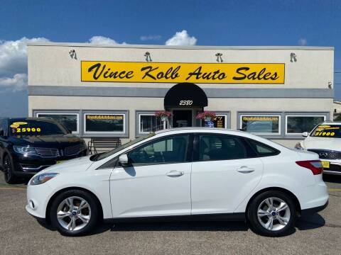 2014 Ford Focus for sale at Vince Kolb Auto Sales in Lake Ozark MO