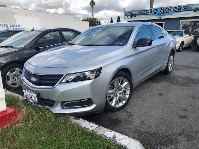 2015 Chevrolet Impala for sale at CABO MOTORS in Chula Vista CA