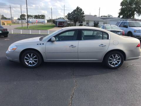 2007 Buick Lucerne for sale at Westok Auto Leasing in Weatherford OK