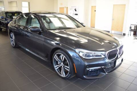 2018 BMW 7 Series for sale at BMW OF NEWPORT in Middletown RI
